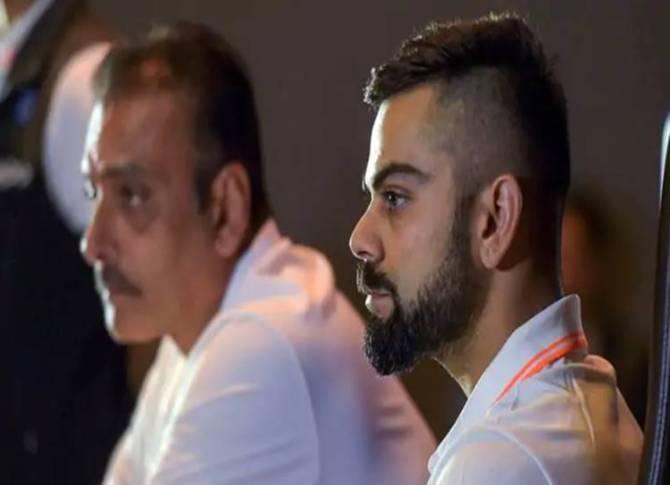World cup 2019 virat kohli ravi shastri press meet - 'வெறித்தனம் இல்லையேல் வெற்றி இல்லை' - உலகக் கோப்பைக்கு கிளம்பும் முன் கேப்டன் கோலி