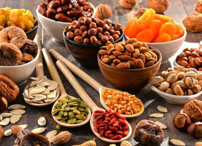 Healthy Dry fruits and Nuts Snacks for your healthy diet and fitness