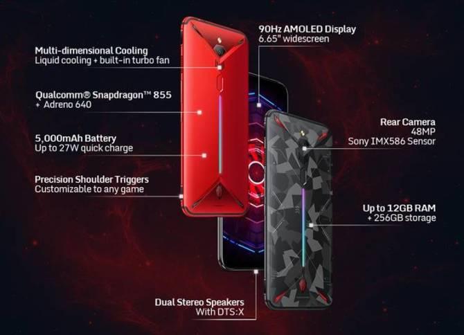 Gaming Smartphone Nubia Red Magic 3
