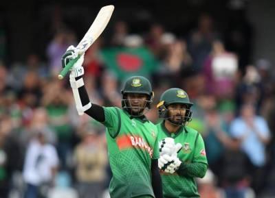ICC World Cup Cricket 2019 WIvBan, Shakib al hasan, Litton Das, League match 23