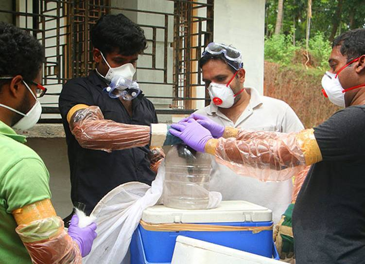 Nipah Virus High Alert, Tamil Nadu Kerala Border districts,