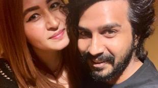 Vishnu Vishal's selfie with jwala gutta