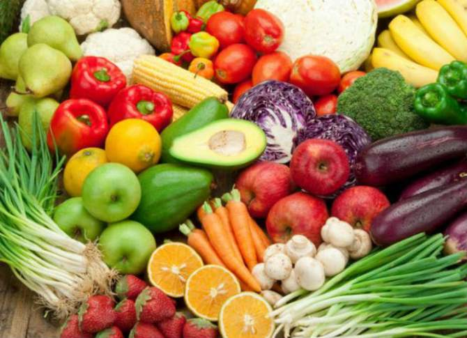 Fruits and vegetables helps to avoid heart diseases
