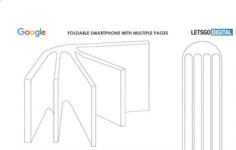Google Foldable Smartphone Patent