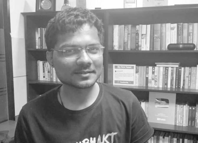 Freelance Journalist Prashant Kanojia