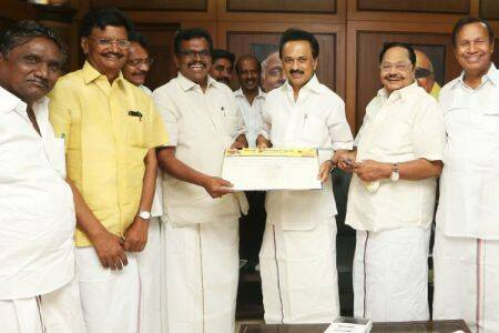 Thanga tamilselvan joinned dmk