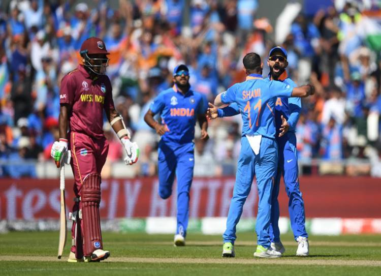 India vs West Indies Live Score: World Cup 2019 India vs ...