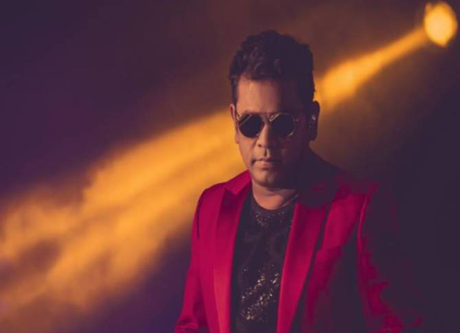 AR Rahman tweet about tamil song in punjab - 'தமிழ் பஞ்சாப்பிலும் பரவுகிறது' - ஏ.ஆர்.ரஹ்மான் ஆச்சர்ய ட்வீட்