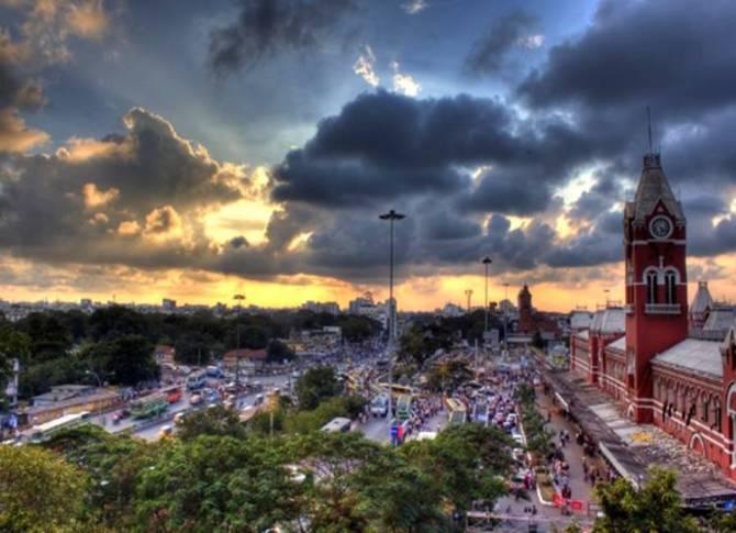 tamil nadu weatherman about chennai rain - 'தண்ணீர் பிரச்சனை தீரும் என்று நினைக்க வேண்டாம்' - தமிழ்நாடு வெதர்மேன் எச்சரிக்கை