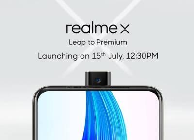 Realme X Smartohone Specifications, Price, Availability, launch