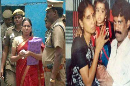 Nalini released on parole
