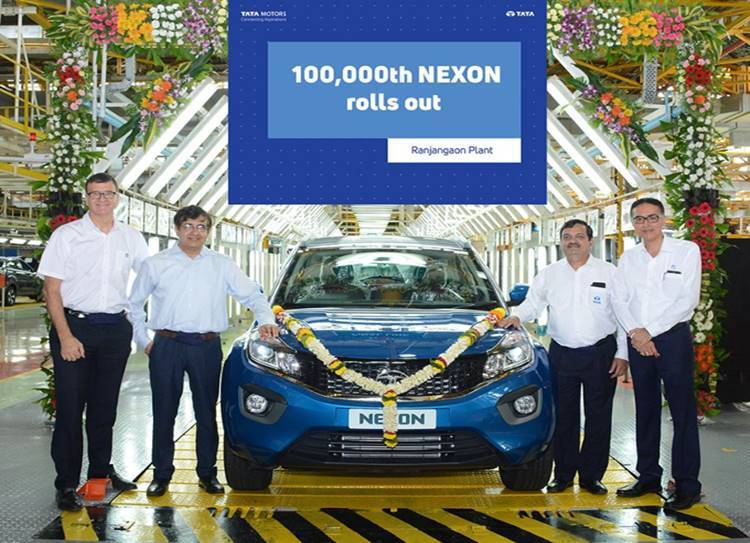 Tata Motors Nexon hits 1,00,000 units