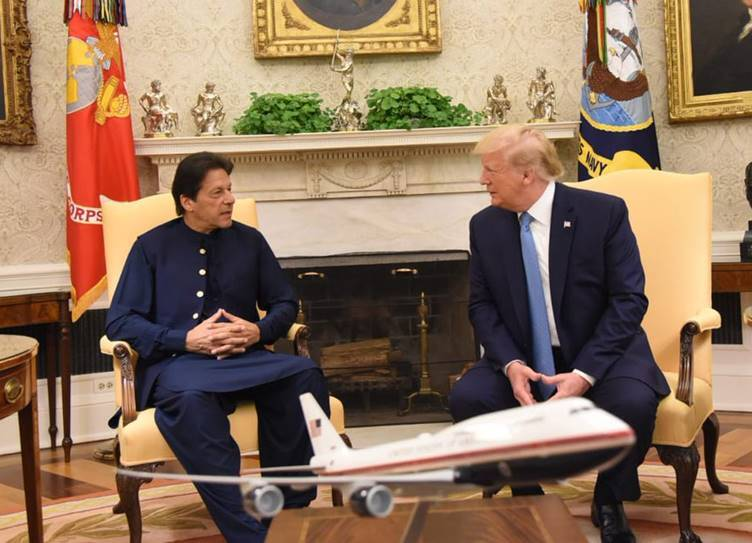 USA President Donald Trump to mediate on Kashmir