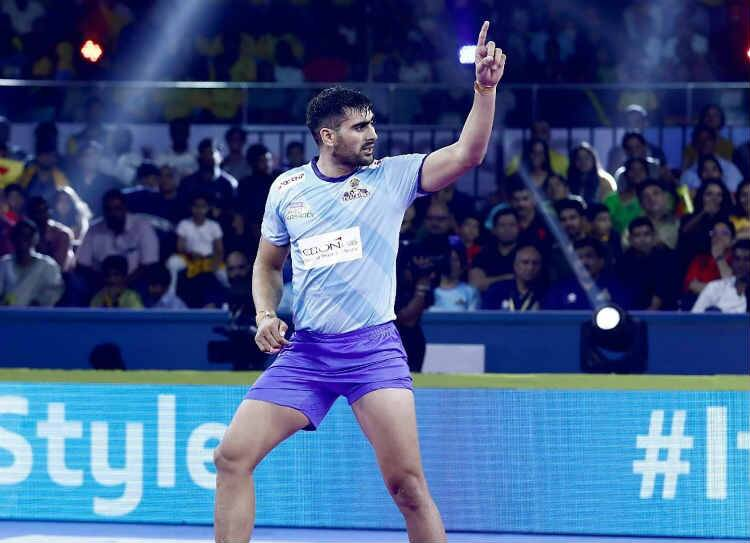 Pro Kabaddi league, rahul chowdri, tamil thalaivas