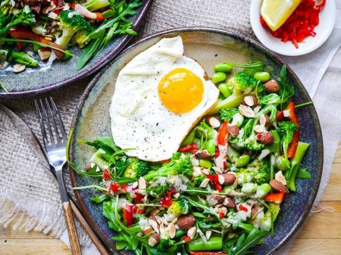 cholesterol free salad recipe