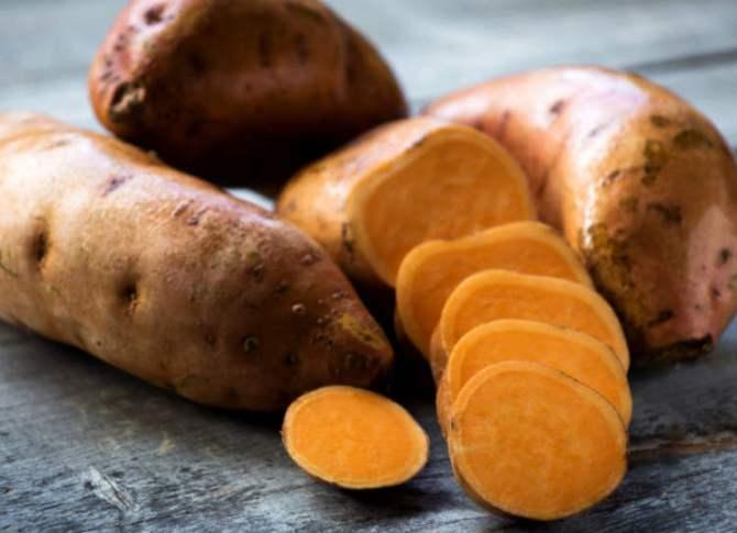 Sweet Potato for skin