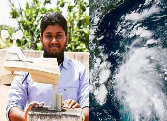 Coimbatore weatherman Santhosh Krishnan chases monsoon
