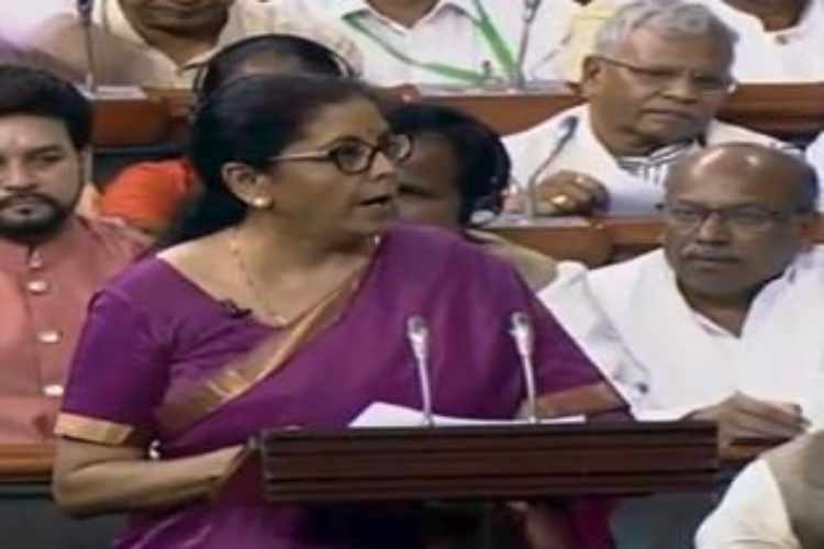 Budget 2019: Nirmala Sitharaman's Tamil Speech For Tax