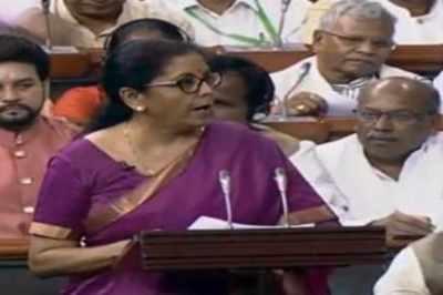 Budget 2019: வரி வசூலுக்கு புறநானூற்றுப் பாடலை மேற்கோள் காட்டிய நிர்மலா சீதாராமன்!