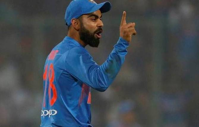 virat kohli. india won the second t20 match