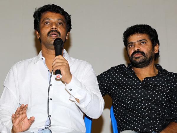 Director Cheran and ameer
