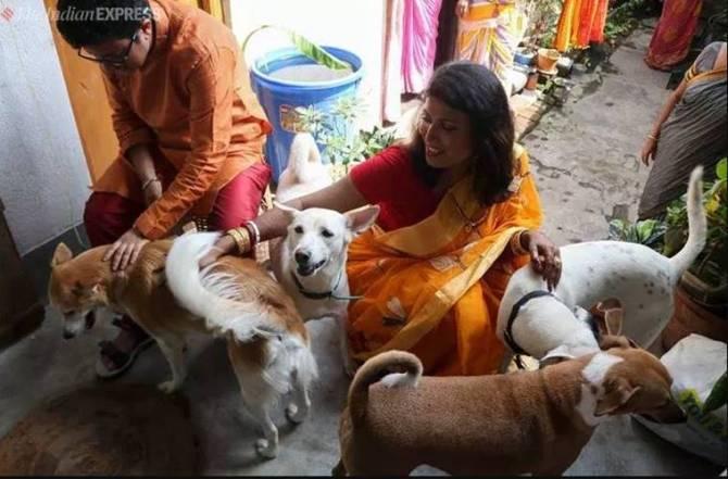 Bengal first rainbow wedding, transwoman, transman, transgender,