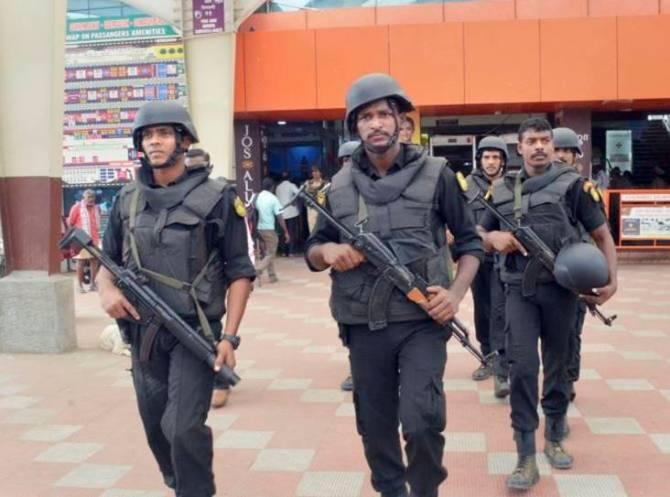 Tamil Nadu terror alert, High alert in Tamil Nadu