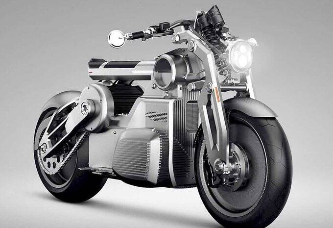 Curtiss Motorcycle Zeus, Curtiss electric motor cycle psyche