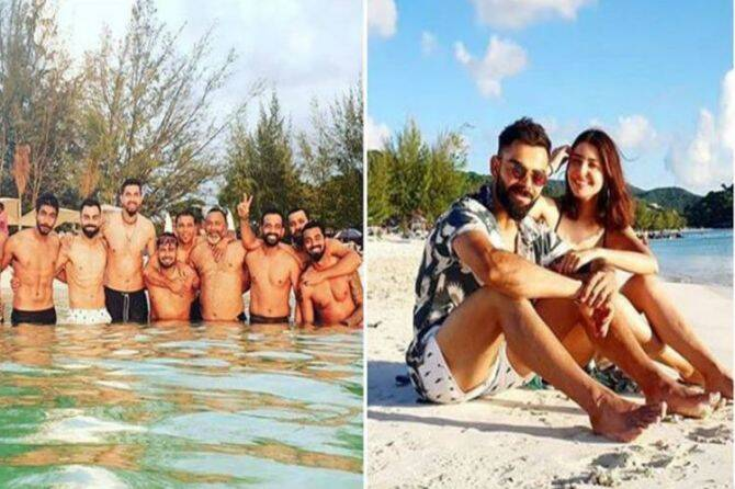 virat kohli anushka sharma day out