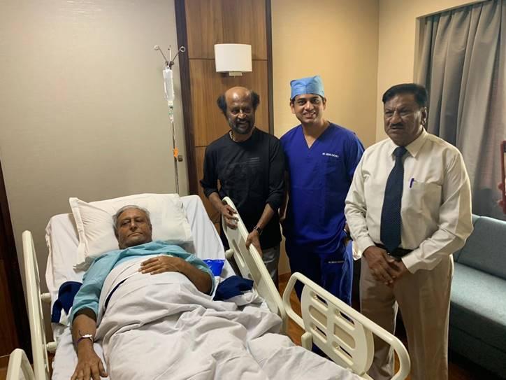 Rajinikanth brother sathyanarayanan rao hospitalized