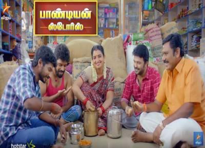 Pandian Stores Serial, vijay tv, dhanam moorthi, mullai, kathir