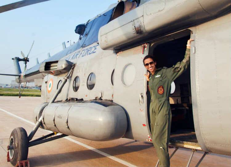 Shalija Dhami, Shaliza Dhami flight commander