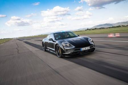Porsche Taycan, Porsche's first fully electric car