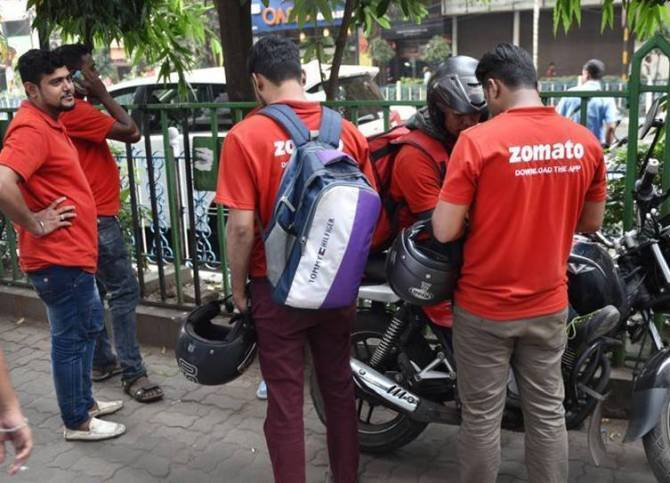 Zomato beef-pork delivery protest