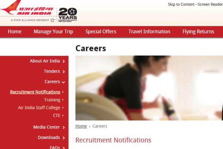 airindia, recruitment, ITI, diploma, graduate,technician, newdelhi