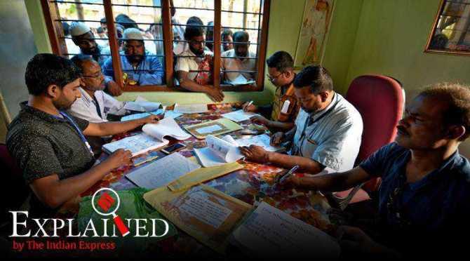 National Register of Citizens of India, Assam, nrc assam