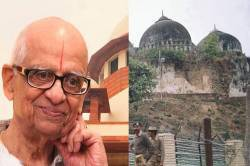 Ayodhya dispute case Lawyer K Parasaran
