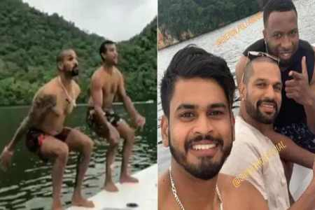 shikhar dhawan, shreyas iyer, rohit sharma, ஷிகர் தவான், வெஸ்ட் இண்டீஸ், indian cricketers, india's tour of caribbean, kieron pollard, nicholas pooran, கிரிக்கெட், khaleel ahmed, navdeep saini, rishabh pant, cricket news