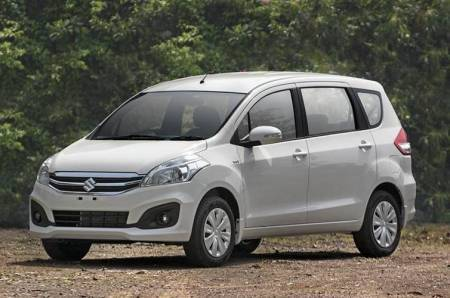 Indian automobile industry Maruti Ertiga production