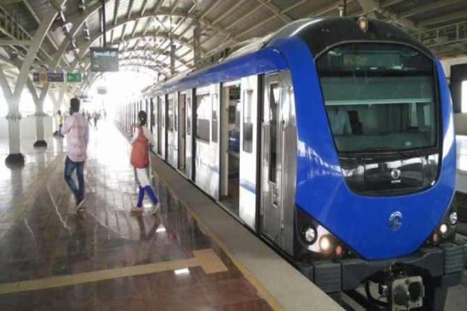 chennai metro 50 percent Subsidy onsunday and public holidays to boost ridership