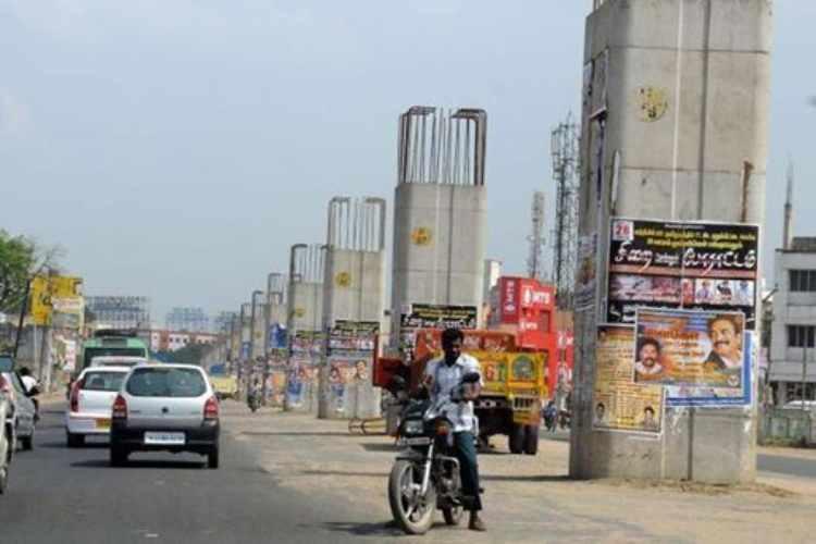 Maduravoyal-Chennai Port Corridor, Chennai elevated corridor