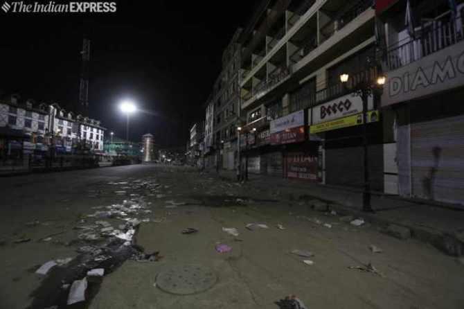 Kashmir news today live updates