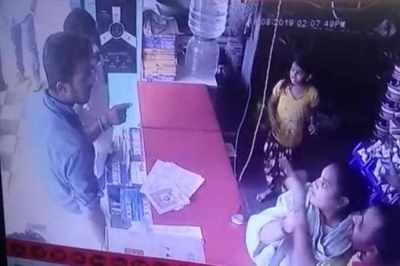 tirupur, asssault, cctv footage, krishna jeyanthi, donation