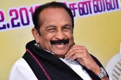 vaiko. vaiko health update, hospital, mdmk party programmes