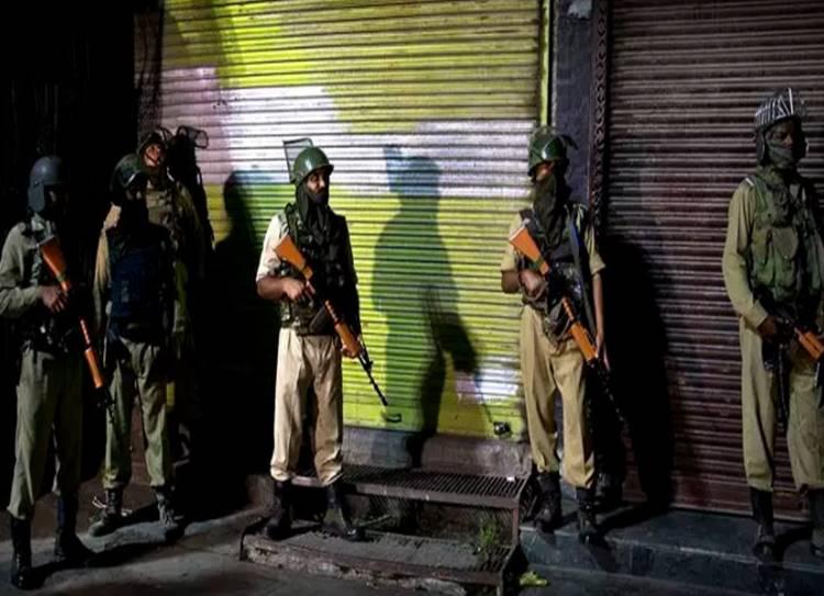 Kashmir valley communication blockade