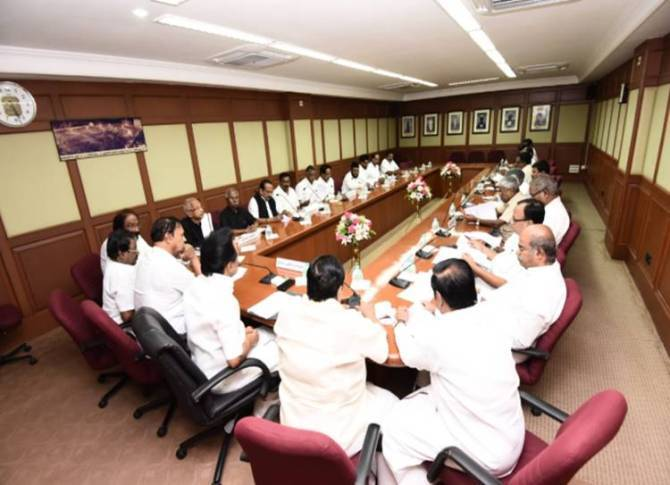 Jammu Kashmir issue: DMK All Party Meeting convened by Dravida Munnetra Kazhagam chief MK Stalin at anna arivalayam- திமுக அனைத்துக் கட்சிக் கூட்டம்