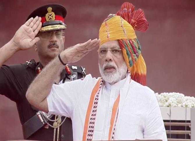Independence day 2019 celebrations pm modi speech