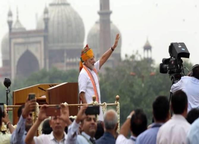 Independence Day 2019 PM Modi Speech Live Updates: