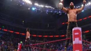 WWE Seth Rollins and Braun Strowman become new Tag Team Champions