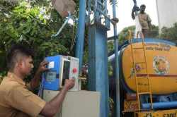 chennai, chennai metro water, metering system, digital meter, water consumption, chennai corporation
